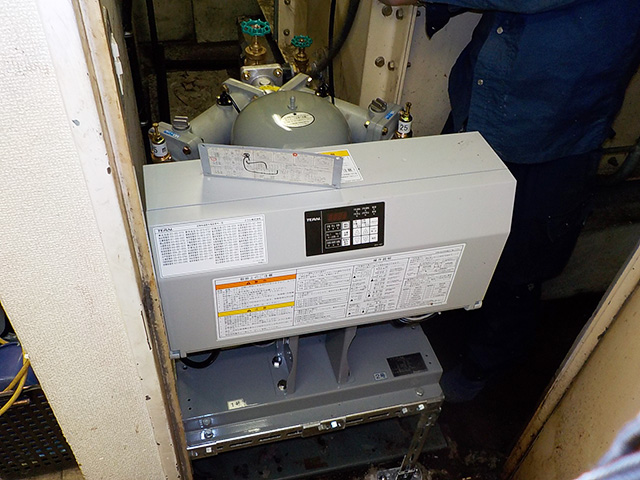 Mビル 給水加圧ポンプ更新工事